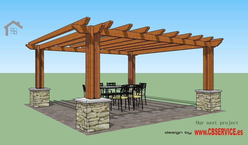 Estructuras de madera espanol - Estructura tejado madera ...