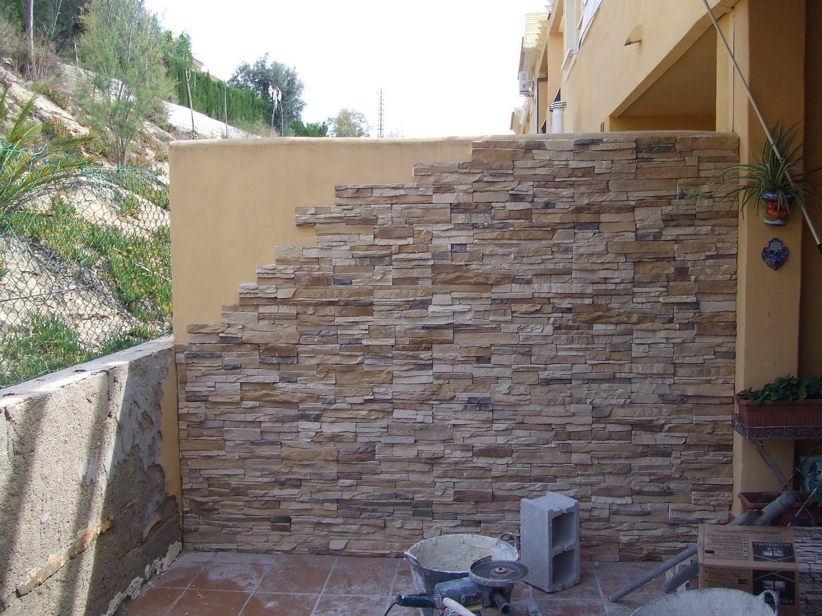 Algemene bouwwerken renovaties cbservice - Muros de piedra ...