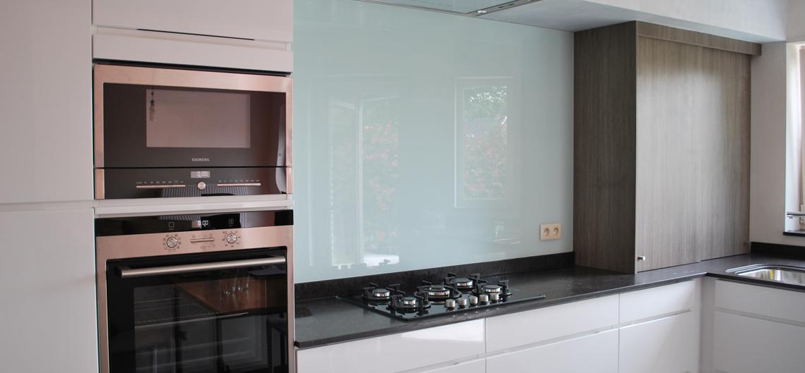 Glasgordijnen windschermen en afscheidingswanden cbservice for Keuken met glas